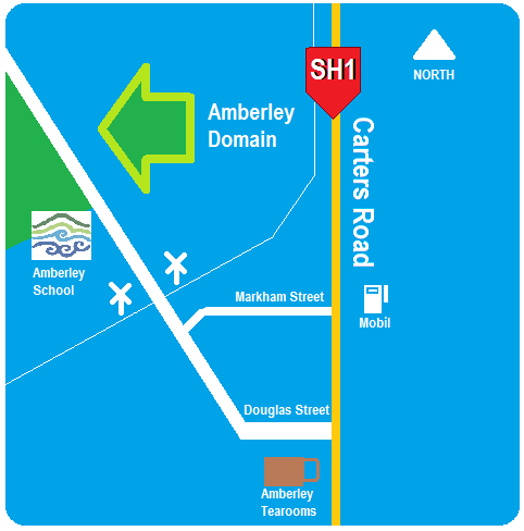 Amberley Domain Map