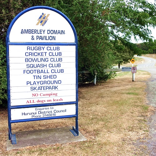 Amberley Domain Sign